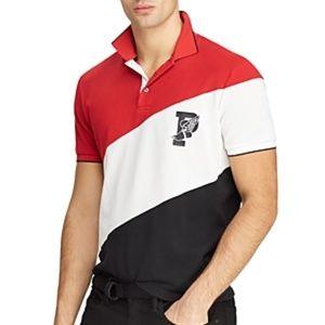 Ralph Lauren P Wing Performance Striped Polo Shirt